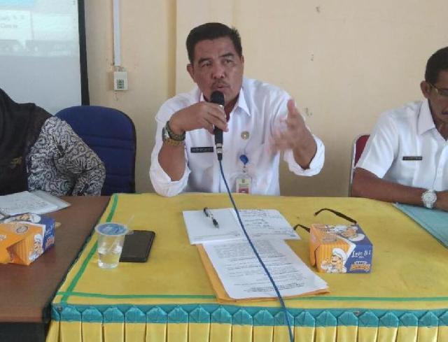 Jelang Akhir Tahun, Dinas PMD Inhu Rapat Kordinasi Bersama Tim Pengendali Kecamatan